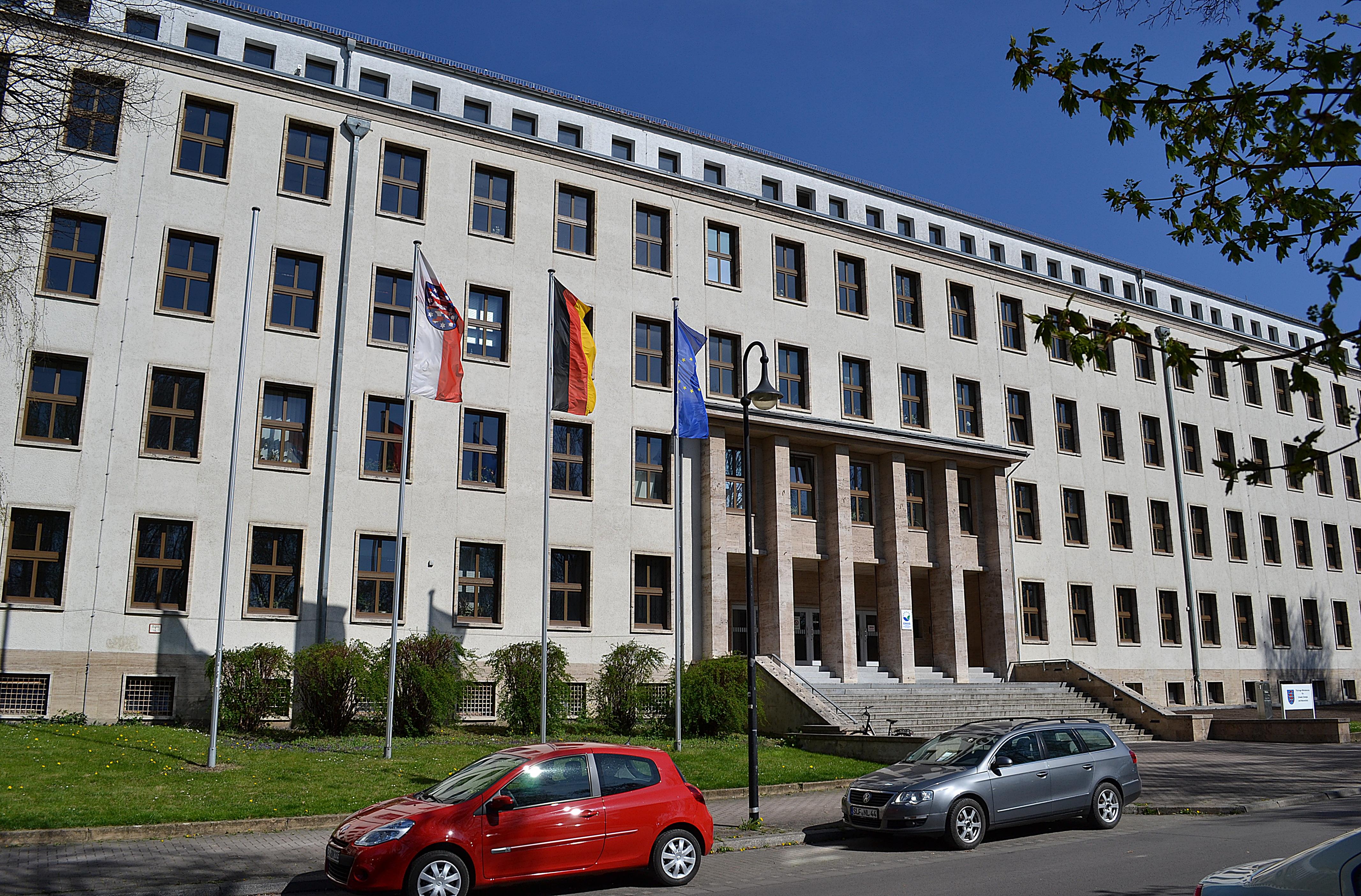 Sitz der Landesregulierungsbehörde, ein Verwaltungsgebäude in Erfurt.